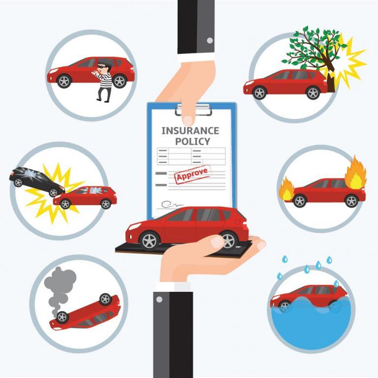 Versicherungsschäden am Auto
